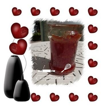 Confiture de tomates a la vanille