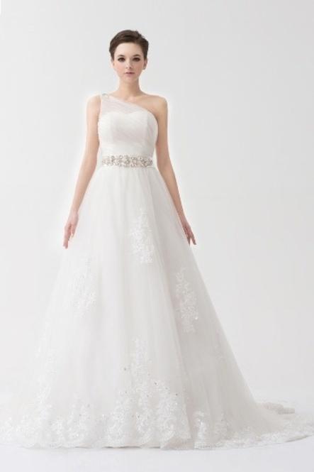 robe de bustier mariage au printemps