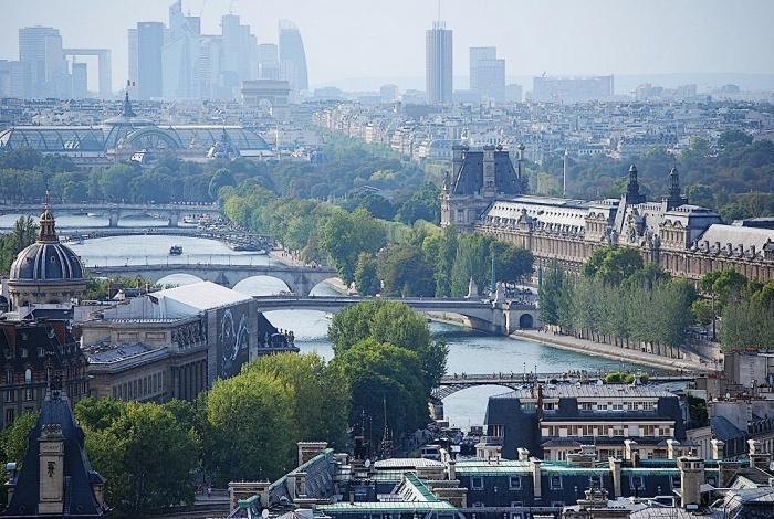 Paris, vue de sa Cathédrale