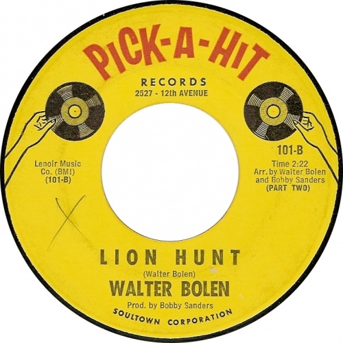 WALTER BOLEN - lion hunt