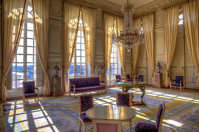 ** VERSAILLES.- LE GRAND TRIANON sous LOUIS XIV & PLUS.**