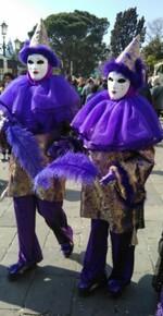 Aperçu de Venise avec le carnaval