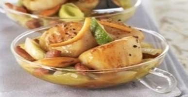 Blog de lisezmoi :Hello! Bienvenue sur mon blog!, La recette du jour - Loup en papillotte au basilic sauce pistou