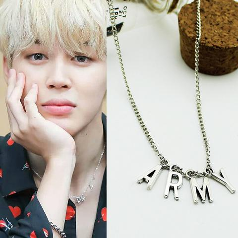 Collier ARMY BTS Edition