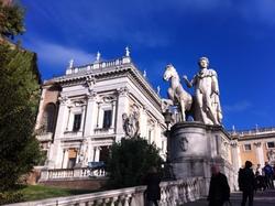 Piazza Campidoglio - Rome (Italie)