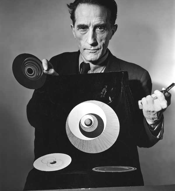 Marcel Duchamp Rotoreliefs-,Photo Arnold Eagle Point-to-Point Studio