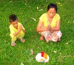 À huit-cents bornes des rizières...Hua Hin, Thaïlande !