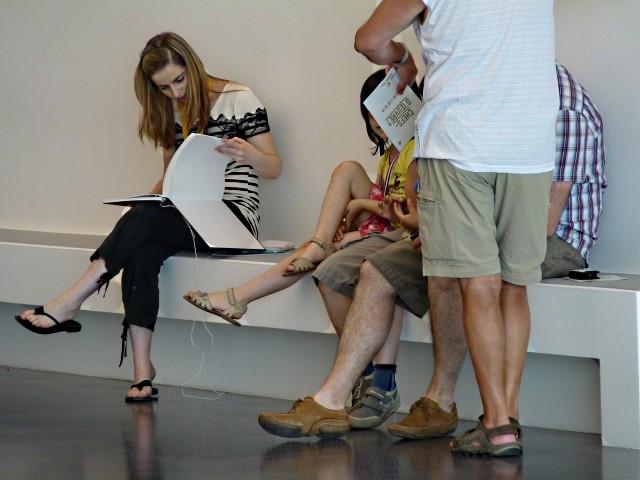 Centre Pompidou Metz 21 visiteurs 12 06 10