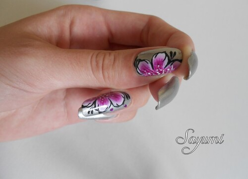 Nail Art One Stroke précieux