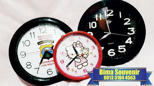 Jam Dinding Souvenir Promosi Perusahaan 0813-3104-4563