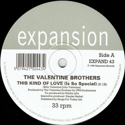 The Valentine Brothers - This Kind Of Love (Is So Special)