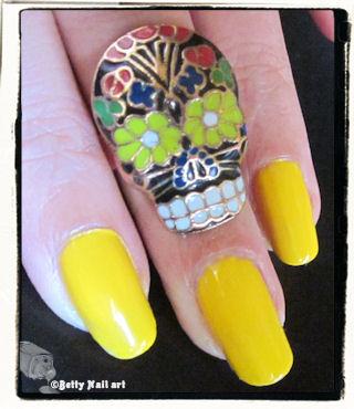 Swatch jaune soleil