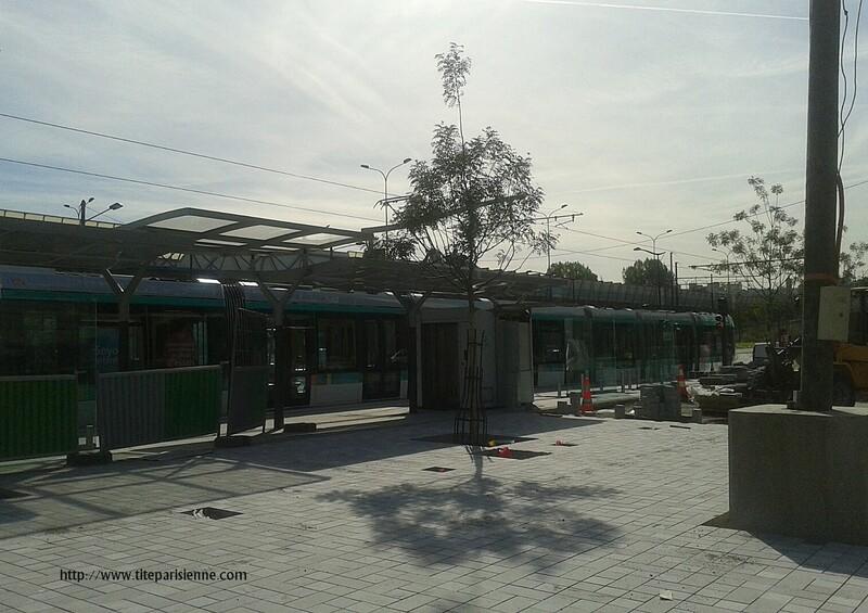 Souvenirs de la construction du Tramway T3b - Paris 19ème