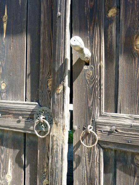Jour 5 - Dolen 16 - Porte en bois