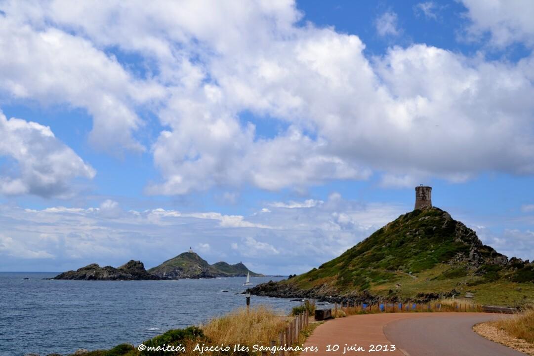 La tour de la Parata et les Iles Sanguinaires Ajaccio