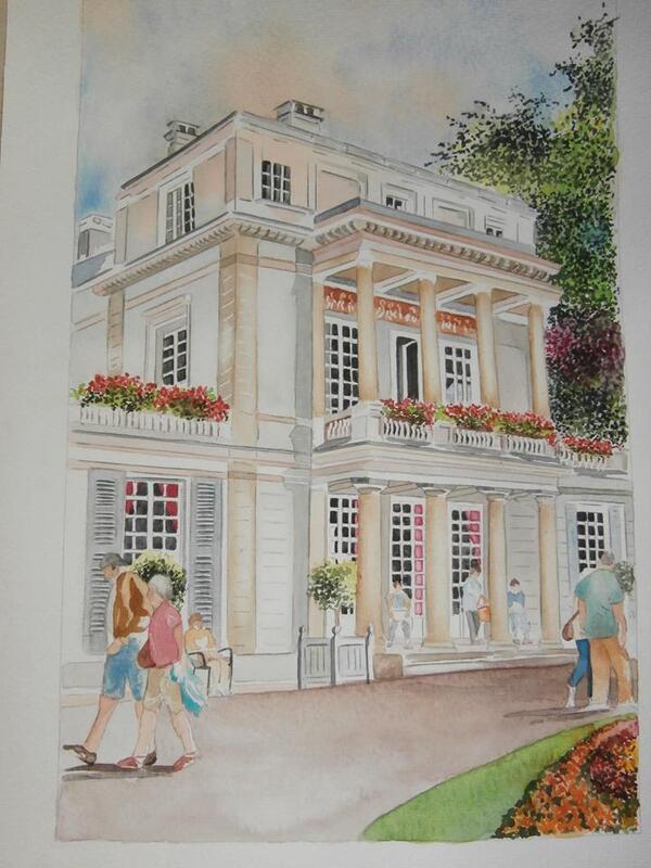 Pornic, Gustave CAILLEBOTTE, Peintre, Mécène, Philatéliste, Régatier, Architecte naval, Horticulteur