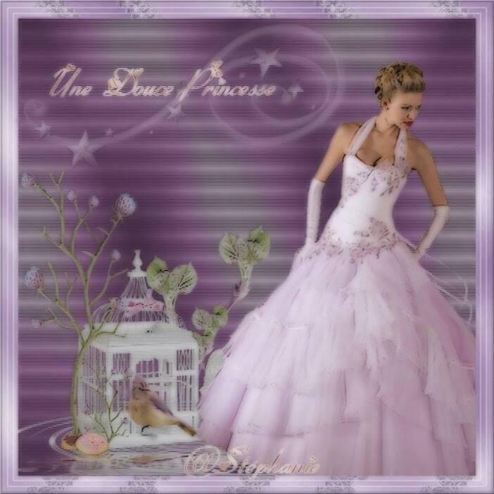 des création pour vous sur une princesse