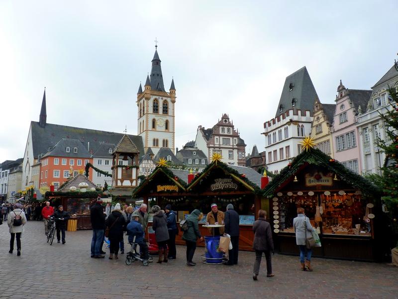 Quelques photos du marché de Noel à  Trèves