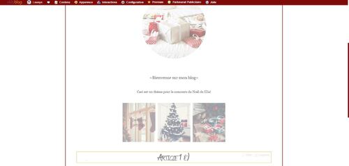 Thème 4 ~ Christmas Vibes