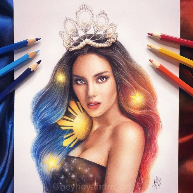 color pencil drawing catriona gray
