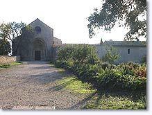 Ganagobie, le prieuré