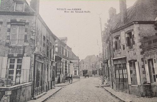 Rue du Grand Sully au début des années 1900