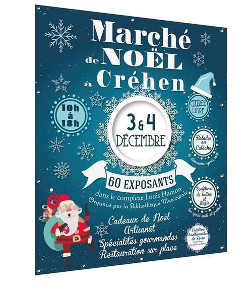 Les 3 et 4 dec 2016 - Marché de Noël à Créhen (Bretagne)