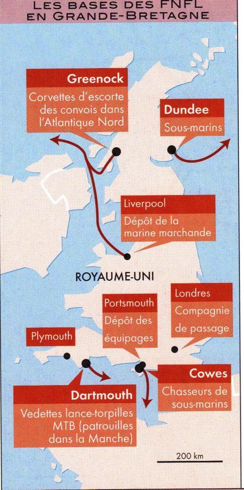 Septembre 2017 :  voyage évènement sur les traces des Forces Navales Françaises Libres en Angleterre !...