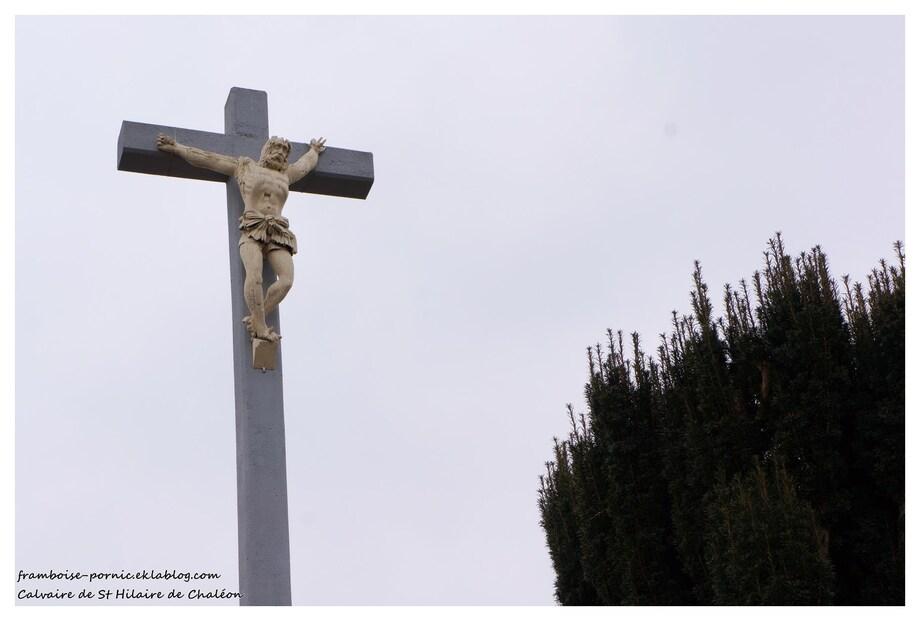 Le calvaire de Saint Hilaire de Chaléons