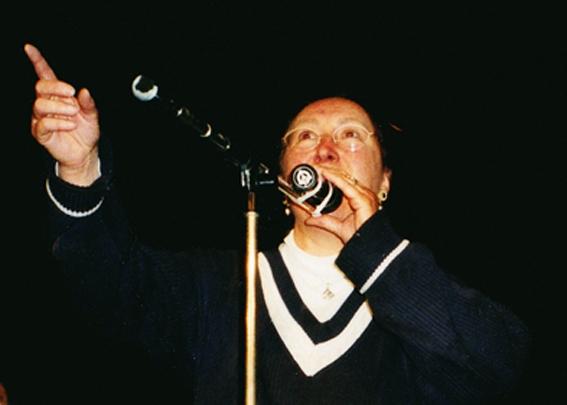 Chanteuse en breton