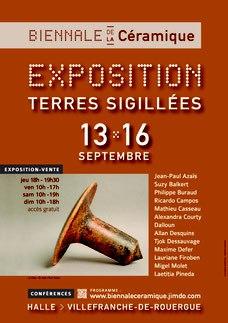 Biennale de céramiques à villefranche 2018