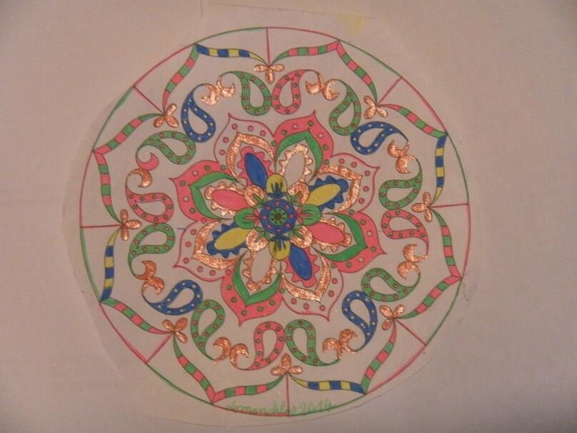 mandala couleurs
