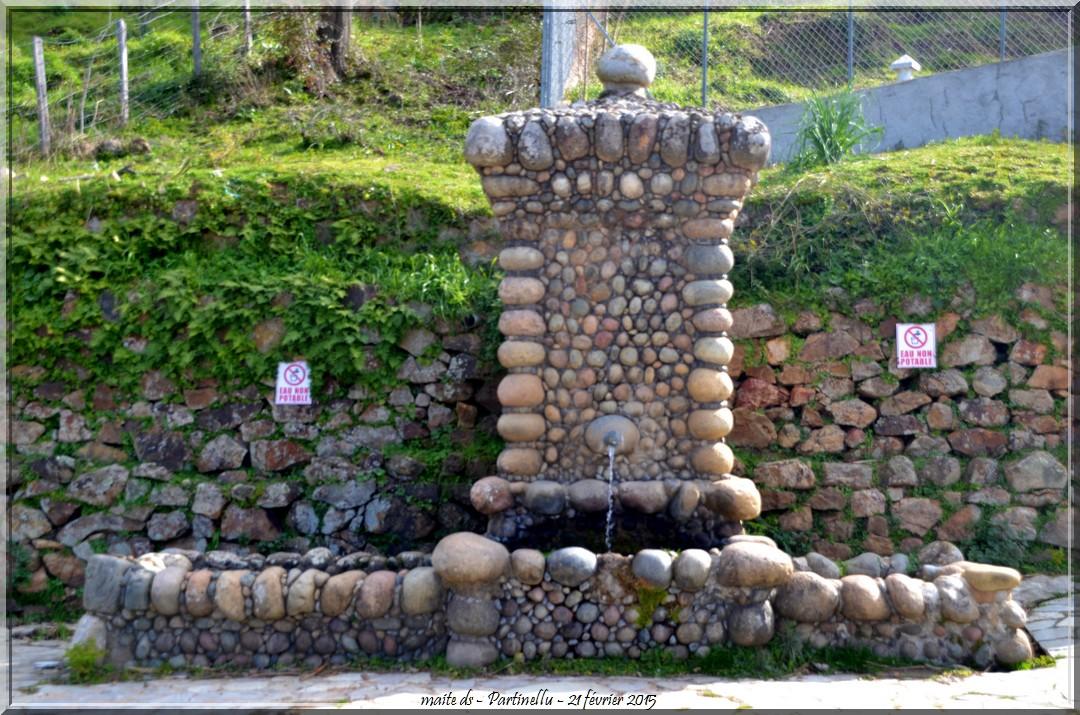 Fontaine publique - Partinellu - Corse