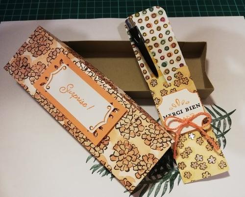 atelier chez Odette : cadeaux pour elle et sa fille....