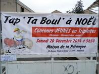 Tap' Ta Boul' est de retour ... à NOËL !
