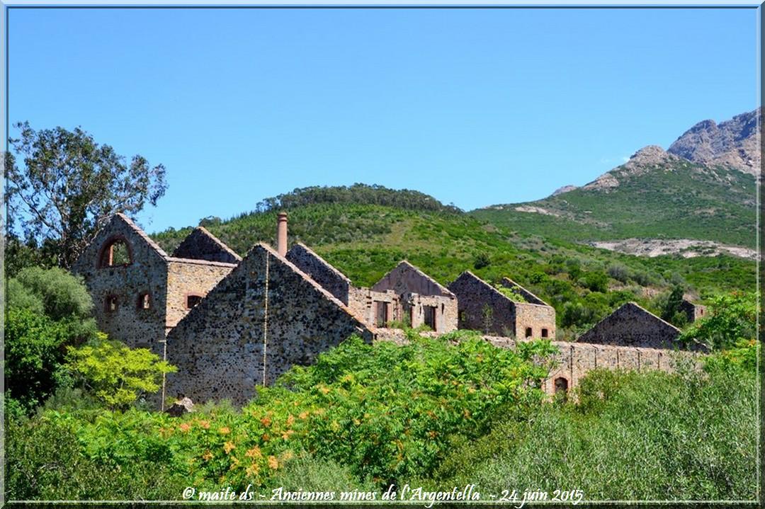 Anciennes mine et usine de l'Argentella - Corse