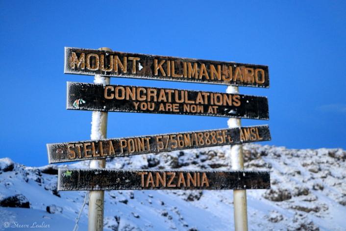 Ascension du Kilimanjaro :