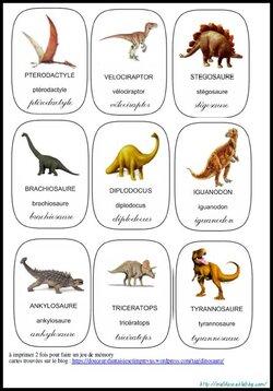 Mon Lapbook sur les dinosaures