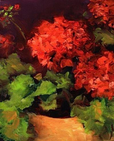 Géraniums en peinture(2)