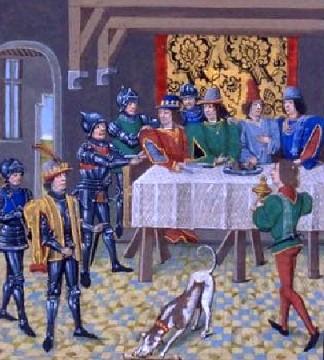 Arrestation de Charles II le Mauvais