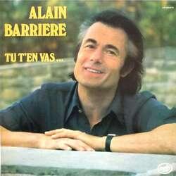 Tu t'en vas-Alain Barrière