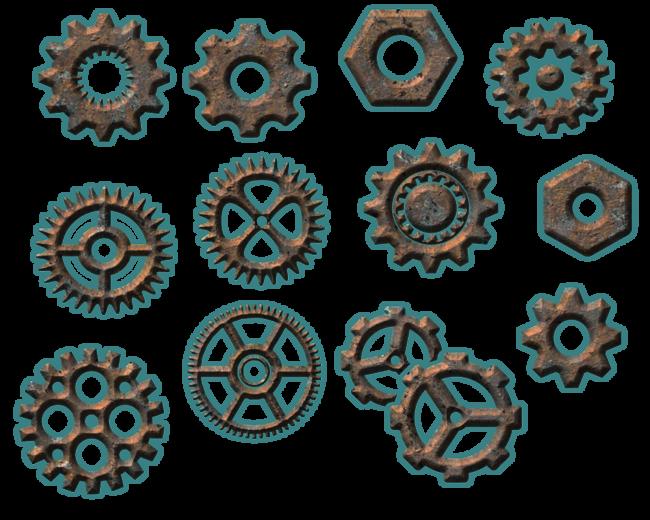 Tuyauteries et gears no:1