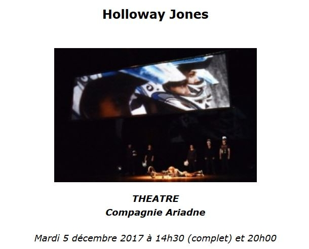 Holloway Jones au Théâtre Gaston Bernard