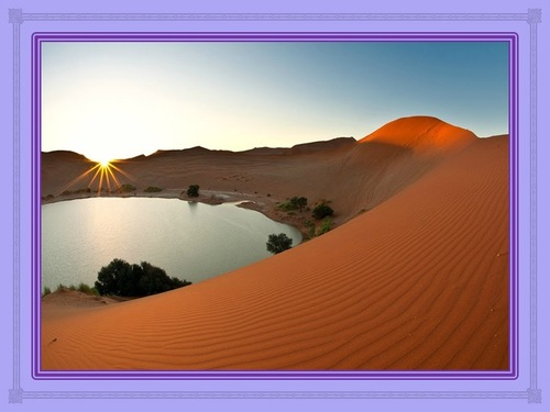 Des déserts