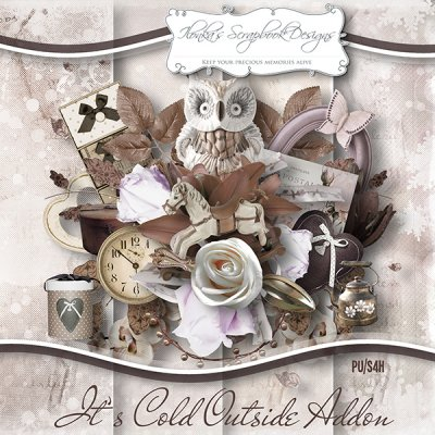 "Addon ""It's Cold Outside"" by Ilonka's Scrapbook Designs"