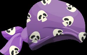 foulard pirate