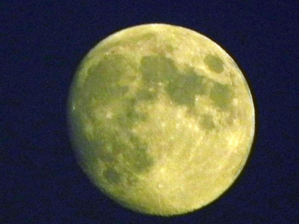 La lune par Bébert