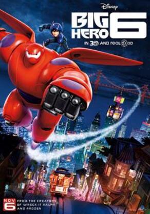 256px big hero 6 film poster
