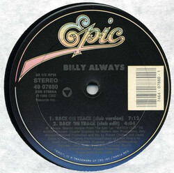 Billy Always - Back On Track