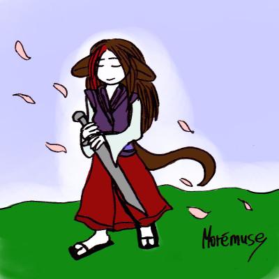 Un samouraï dans le vent